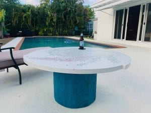 concrete-table-by-pool-polished-with-DS3011