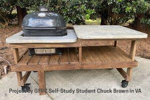 outdoor kitchen GFRC by Chuck Brown