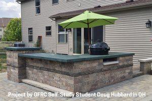 outdoor kitchen GFRC concrete by Doug Hubbard