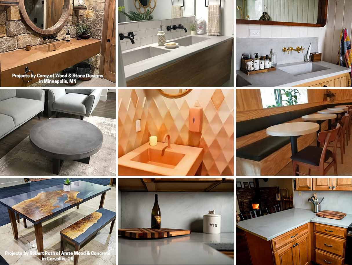 business-concrete-countertop-training-projects-collage