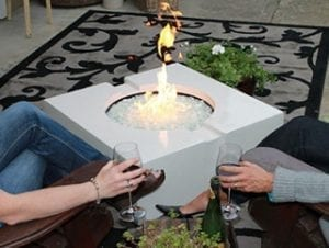 SAK Concrete Designs based on The Concrete Countertop Institute Fire Table Plan