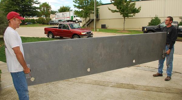 lifting-GFRC-concrete-desk