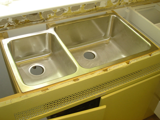 How To Install Undermount Kitchen Sinks Concrete