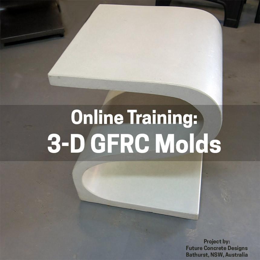 3-Dimensional GFRC Molds