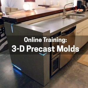 3-Dimensional Precast Molds & Ramp Sinks