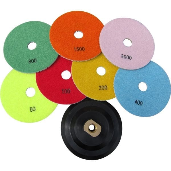 "5"" Sets of Wet Polishing Pads"