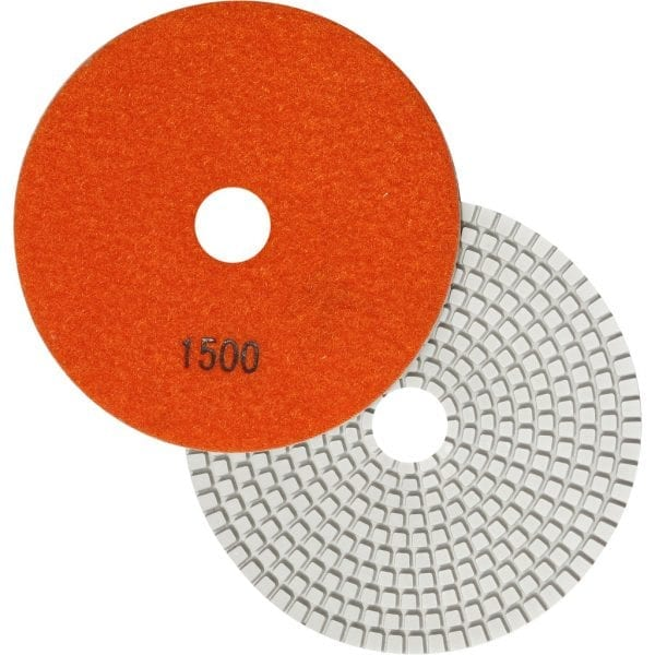 "5"" Wet Polishing Pad, 1500 Grit"