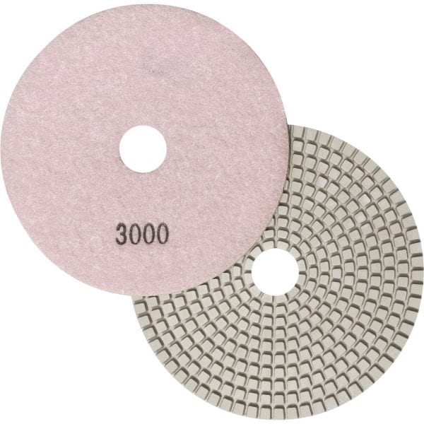 "5"" Wet Polishing Pad, 3000 Grit"