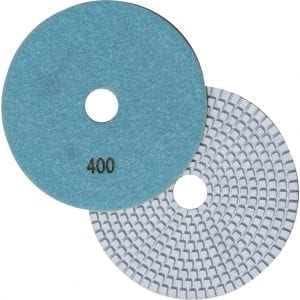"5"" Wet Polishing Pad, 400 Grit"