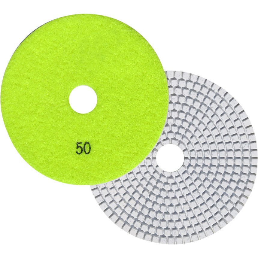"5"" Wet Polishing Pad, 50 Grit"