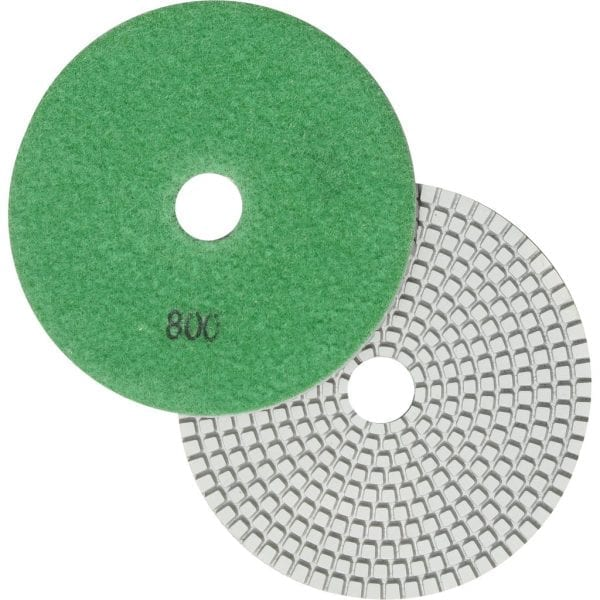 "5"" Wet Polishing Pad, 800 Grit"