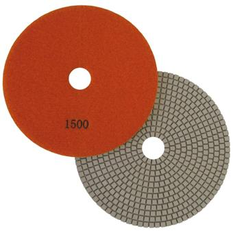 "7"" Wet Polishing Pad, 1500 Grit"