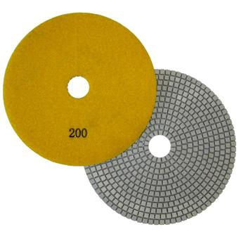 "7"" Wet Polishing Pad, 200 Grit"