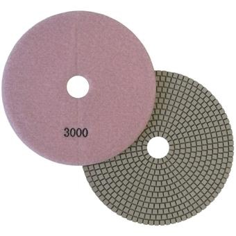 "7"" Wet Polishing Pad, 3000 Grit"