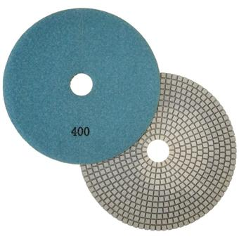 "7"" Wet Polishing Pad, 400 Grit"