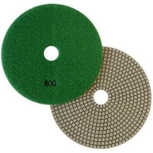"7"" Wet Polishing Pad, 800 Grit"
