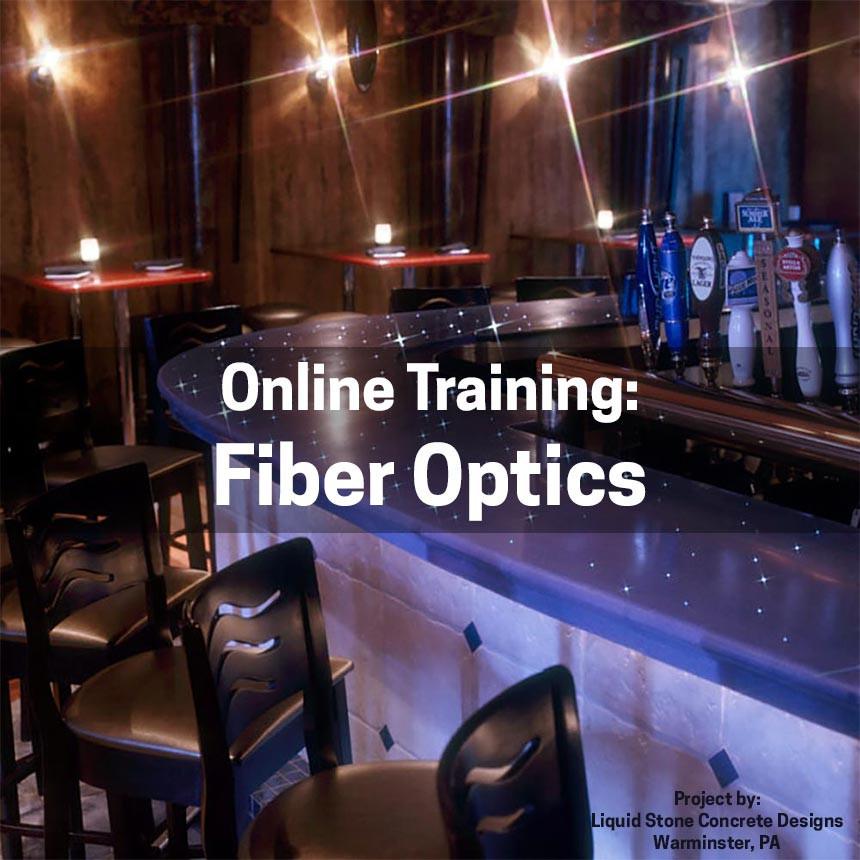 Fiber Optics in Concrete Countertops