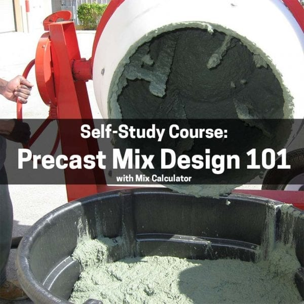Precast Mix Design 101 - Electronic