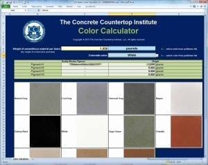 Starter Color Formulas