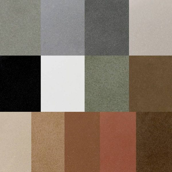 color samples for concrete countertops