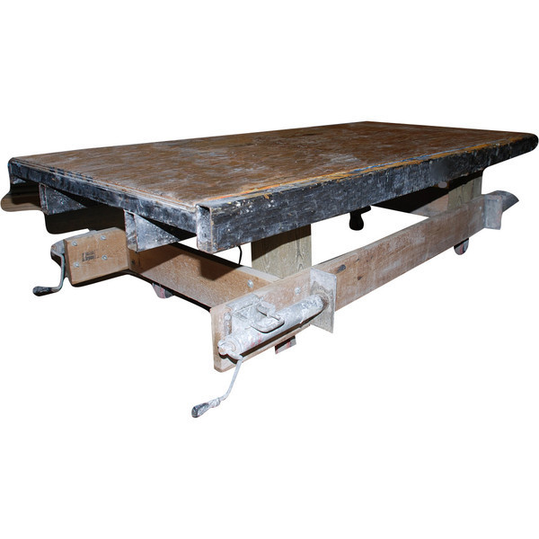 vibrating table for casting concrete countertops