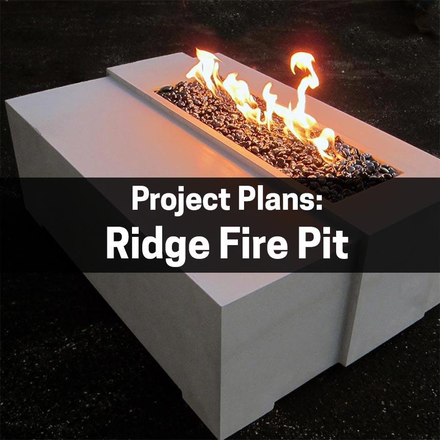 Fire Pit Plans - Ridge