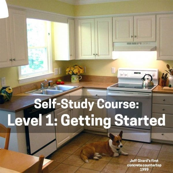 Level 1 - Make Your First (Successful) Concrete Countertop