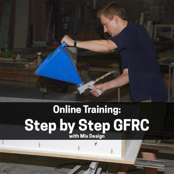 Step by Step GFRC with Mix Design - Free Training