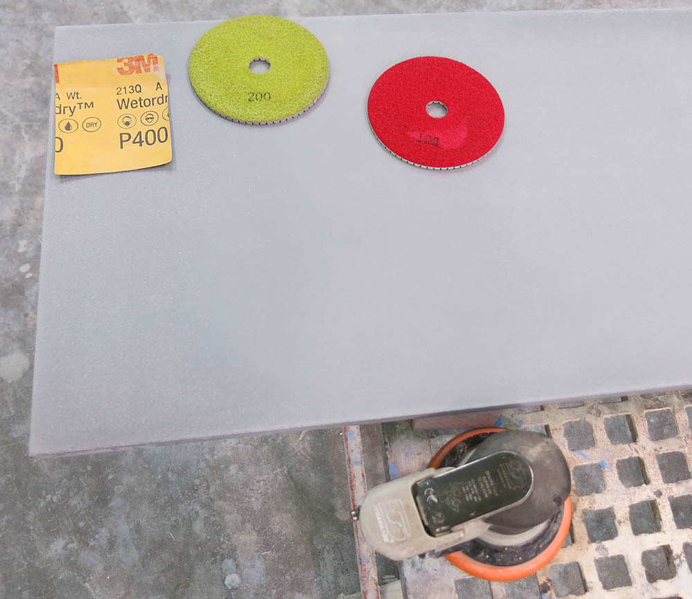 What to do if you dry sanded your concrete before sealing