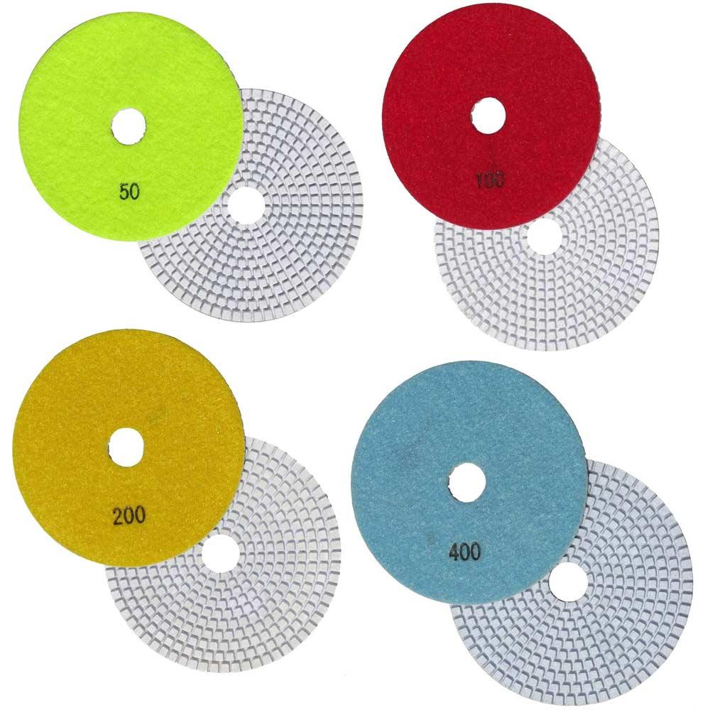 5 Inch Diamond Polishing Pads for Concrete Countertops