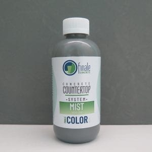 Color for Finale DIY Concrete Countertop System - Mist with sample