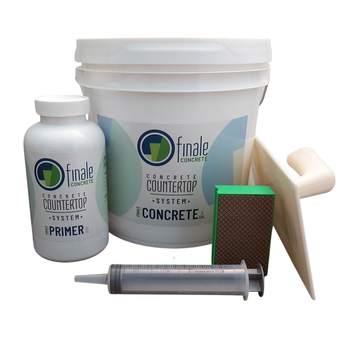 Finale DIY Concrete Countertop System