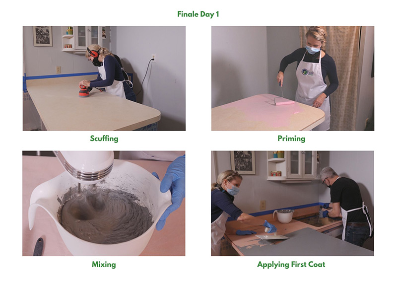Finale Concrete Process - Day 1