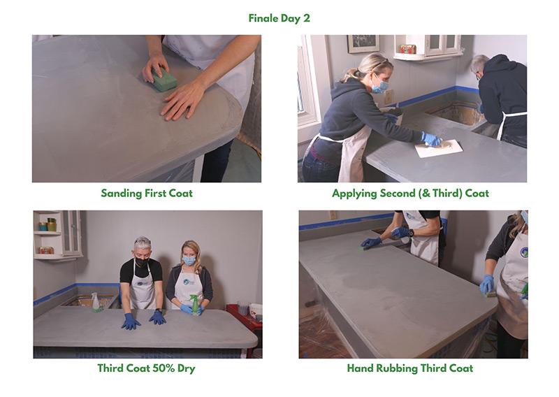 Finale Concrete Process - Day 2